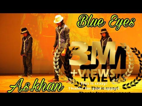 Yo yo honey Singh Blue eyes  dance style mj style a s khan dancer