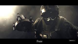 Rainbow 6: Siege ролики всех оперативников