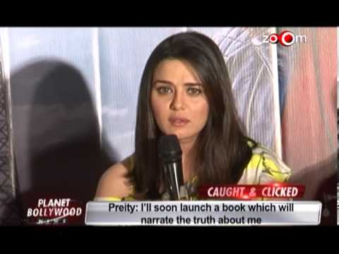 Preity Zinta loses her cool at an event