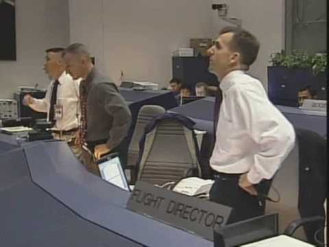 Sts 107 Space Shuttle Mission Control Youtube