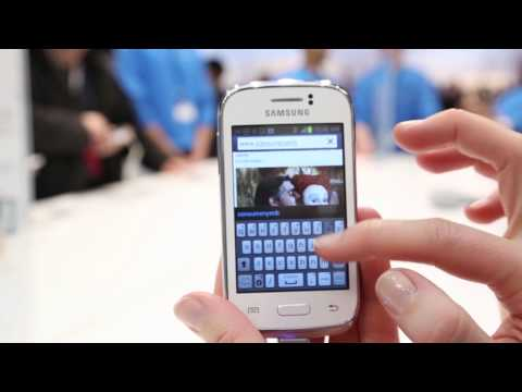 Samsung Galaxy Young - MWC 2013 (Consumentenbond)