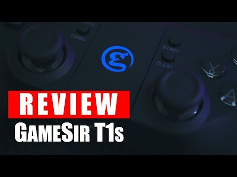 Review GameSir T1s : Gamepad Berbentuk Joystick