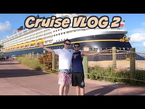 I Lost My GoPro At Castaway Cay ???? | Cruise VLOG 2