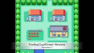 Pallet Town Music - All 4 Generations
