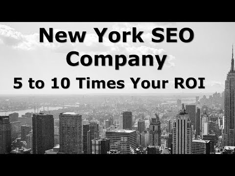 New York SEO Company That Gets You 5 to 10 ROI (rated #1 SEO companies in NY)
