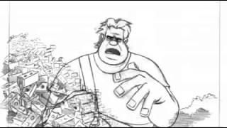Wreck-It Ralph - Nick Ranieri - Wreck-it Ralph Ralph 2d Animation Test