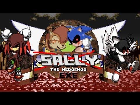 Sally.exe - Sonic.exe Sequel?! (Creepypasta Gaming)