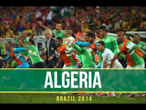 ALGERIA - World Cup 2014 Brazil - Best Momentsᴴᴰ |  أفضل لحظات الجزائر في المونديال