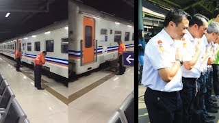 Viral Video Pegawai KAI Tundukkan Kepala, Ini Penjelasan Humas PT  KAI