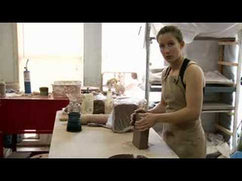 Clay Pottery Slab Building : Pottery Clay Hand Stretching Tips