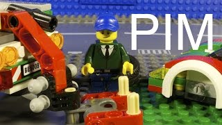 Lego Pim Tow Truck Driver