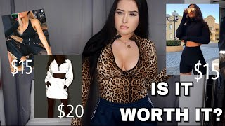 trying instagram trendy clothes - are they worth it? | try on haul