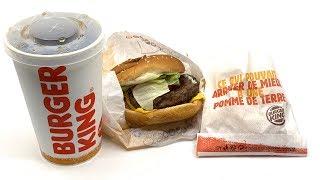 "Burger King ""King Deal"" Beef【4K】"