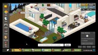Play habbo tutorial 12 como hacer una casa por fuera for Como hacer una casa en habbo