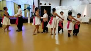 Hmoob Moua GA new year kids dance