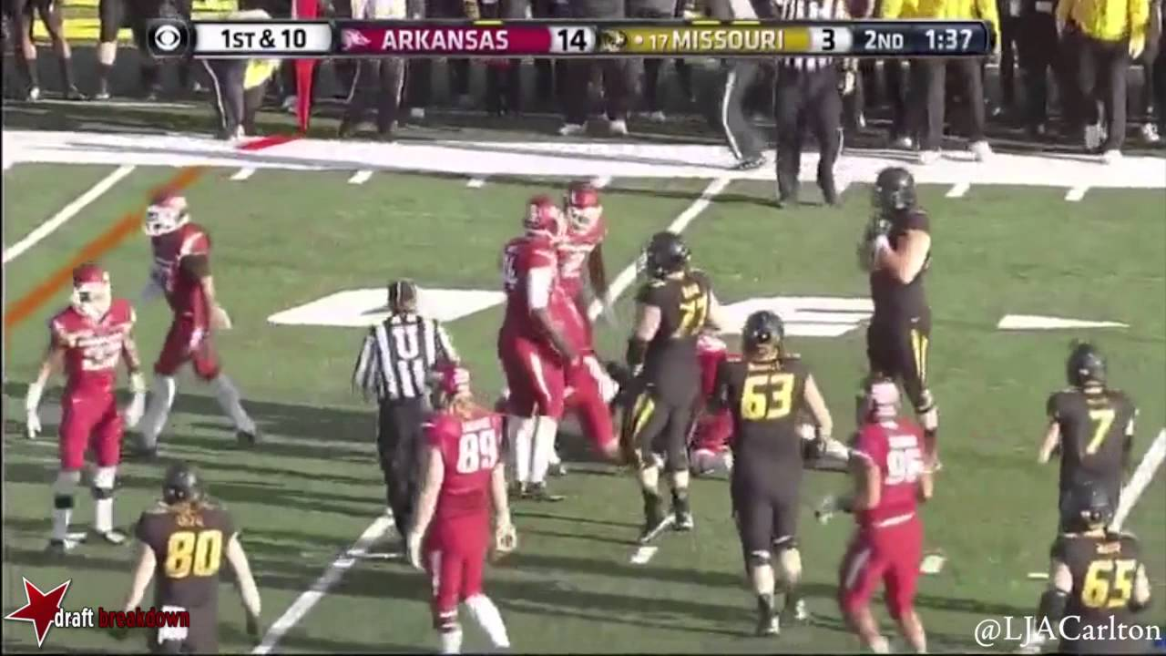 Trey Flowers vs Missouri (2014)