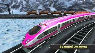 RUSSIAN TRAIN DRIVING SIMULATOR GAME | HD Android Gameplay - Free Games download - Children Games