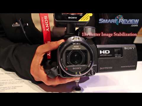 CES 2013: Sony Handycam HDR-PJ790V Projector Camcorder   PJ790   Balanced Optical Steadyshot