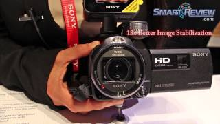 CES 2013_ Sony Handycam HDR-PJ790V Projector Camcorder | PJ790 | Balanced Optical Steadyshot