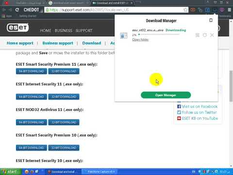 serial eset nod32 antivirus 11