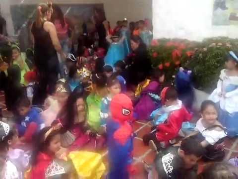 Niños del Jardín Infantil Aluna disfrutan el #DíaDeLosNiños