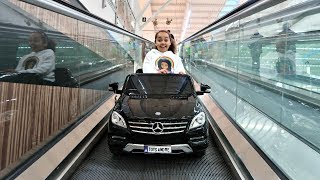 TOY Hunt Shopping In Supermarket - Power Wheels Ride On Car | Toys AndMe