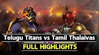 Watch: Pro Kabaddi League: Tamil Thalaivas beat Telugu Titans by 27-23 | Sports Tak