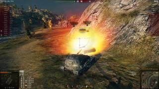 Pz Kpfw  VII - ворлд оф танк | 1 против 8 | Как играть на тяжелых танках