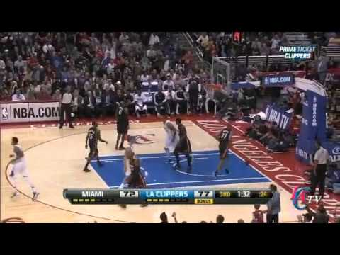 Miami Heat vs Los Angeles Clippers full highlights//11-15-2012