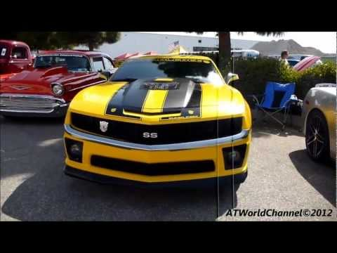 Transformers Edition Camaro SS Bumblebee Engine Starts Up, Rev and Overview Detail Chevrolet 2012