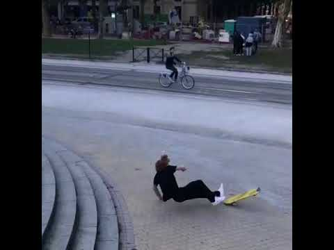 Bdx🌴💦 @adrienbulard_ @paulgallelli | Shralpin Skateboarding