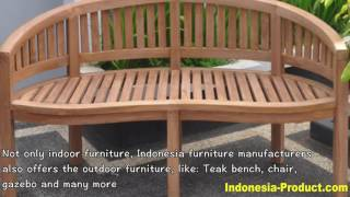 Indonesia Furniture: The Best Wooden Furniture Manufacturer