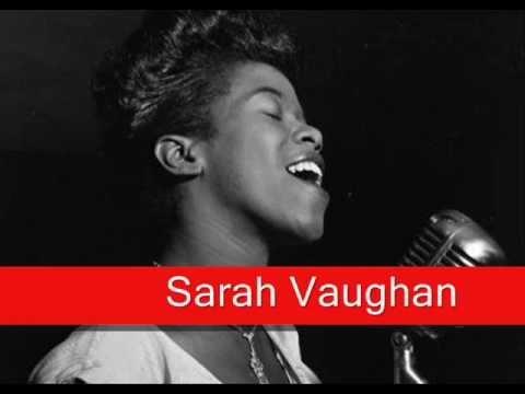 Sarah Vaughan: Ain't Misbehavin'