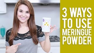 3 Ways to use Meringue Powder | Everything You Want to Know from Rosanna Pansino