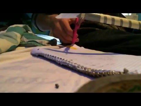 How to make blow gun darts