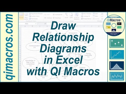how to draw a diagram in excel