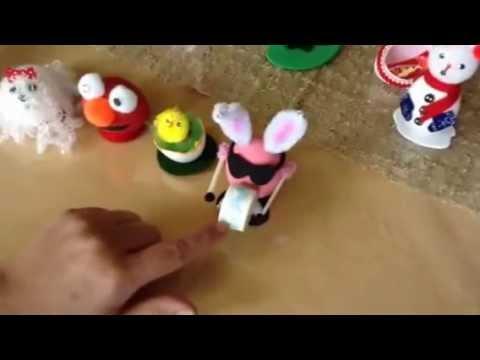 Decoraciones para pascua youtube for Decoracion de pascua