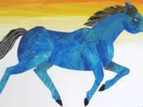 Blue Horses Painting Who Painted a Blue Horse