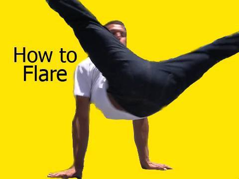 How To Flare Tutorial By Bboy Kiki video