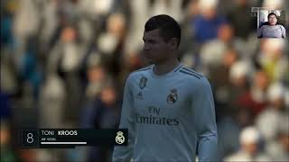 REAL vs SEVILLA - FIFA 20 GamePlay