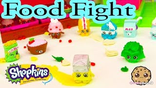 Playdoh Food Fight with Shopkins Season 1 at Small Mart Bakery - Cookie Swirl C Play Video
