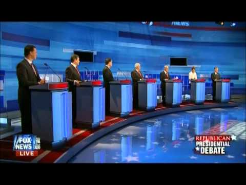 Ron Paul on electability Fox News Iowa Republican Debate 12/15/11