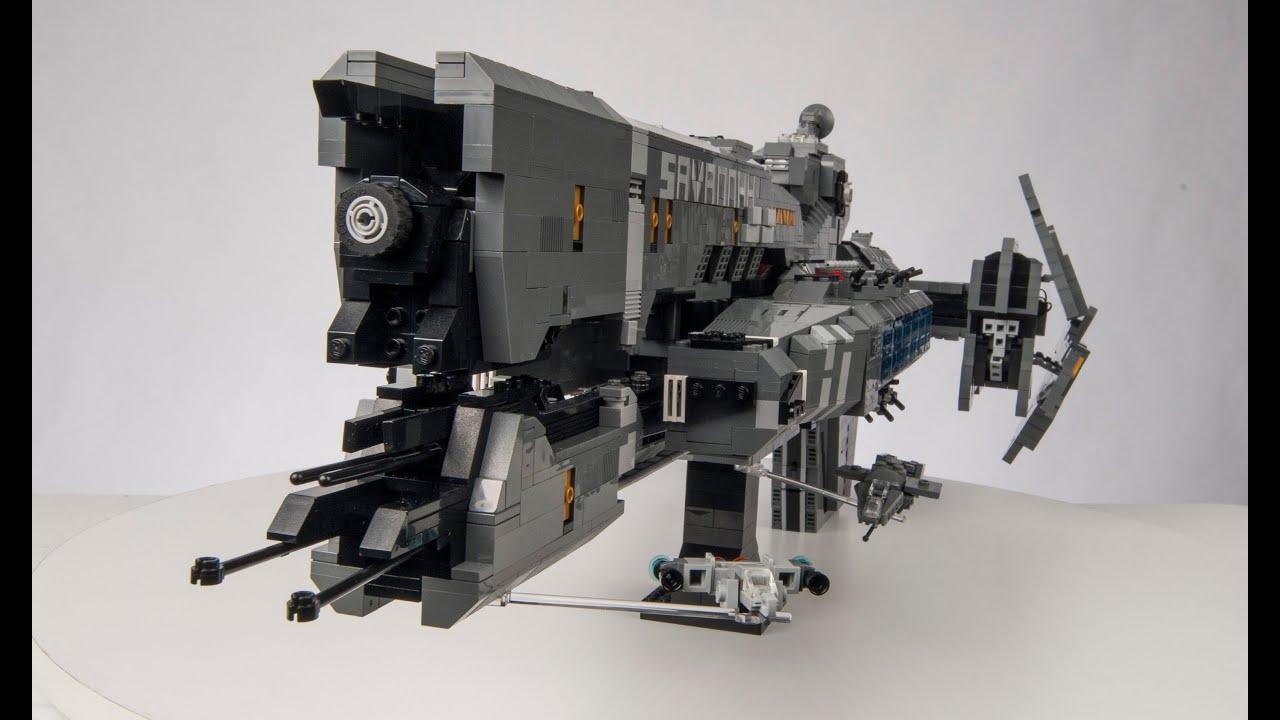 Lego Halo Reach Unsc Savannah Youtube