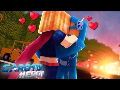 Minecraft: GAROTO HERÓI - BEIJEI A SUPER GIRL! #10 thumbnail