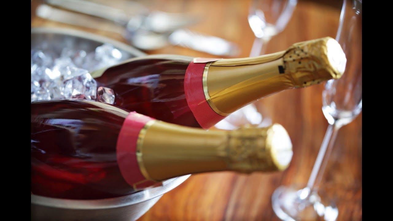 Клубничное шампанское в домашних условиях