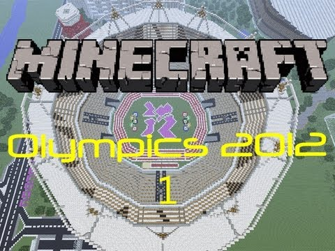 Minecraft London 2012 Olympic Stadium [EPIC]