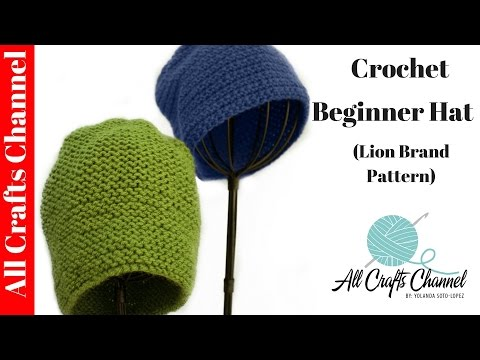 Quick and Easy Beginner Crochet Hat