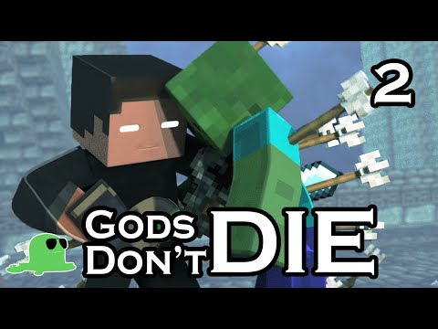Gods Dont Die The Sequel EPIC FIGHT Minecraft Animation