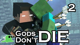 """Gods Don't Die"" - The Sequel - EPIC FIGHT Minecraft Animation"
