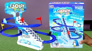Penguin Racing Track Toy | Unbox & Test